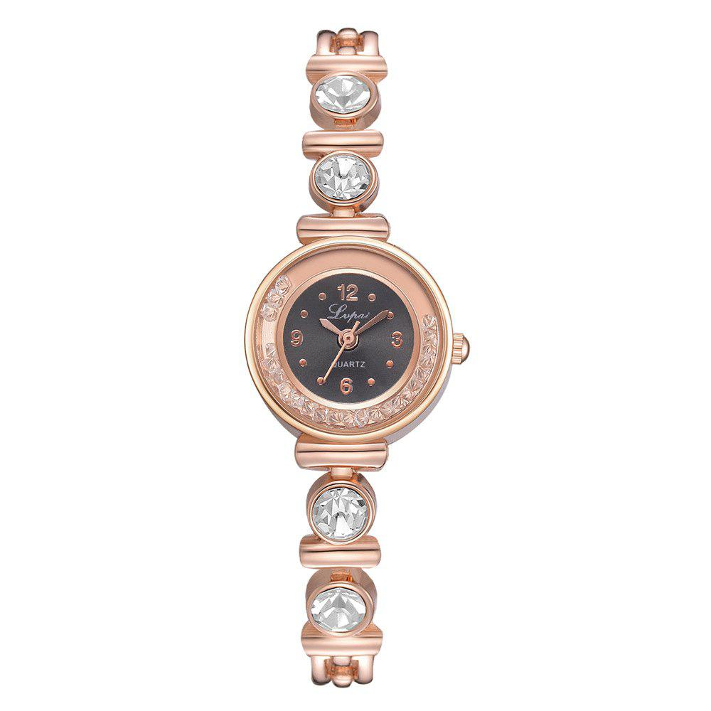 Shops Diamond Ball Bearing Quartz Diamond-Encrusted Bracelet Watch