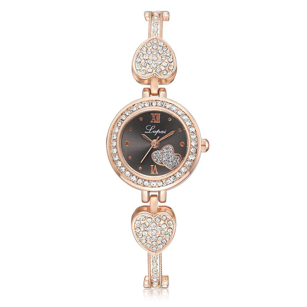 Shop Contracted Temperament Drill Steel Appliance with Metal Chain Chain Love Watches