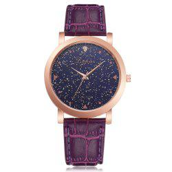 Neutral Romantic Star Fashion Quartz Watch Dress Watch -