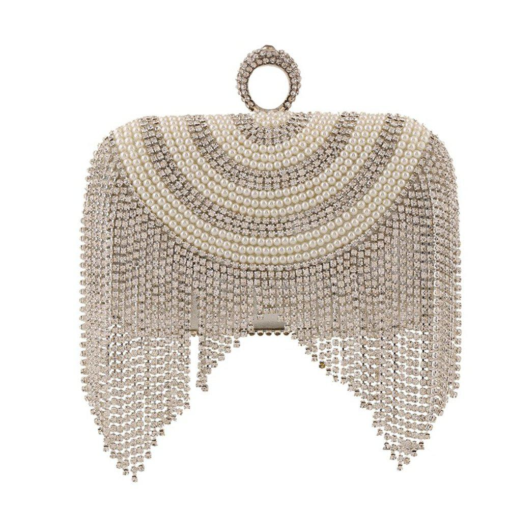 Store The New Hand Bag Ladies Fashion Banquet Dinner Set Auger Beaded Bags