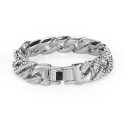 NYUK  Diamond Bracelet Gold and Silver Bracelet Jewelry -