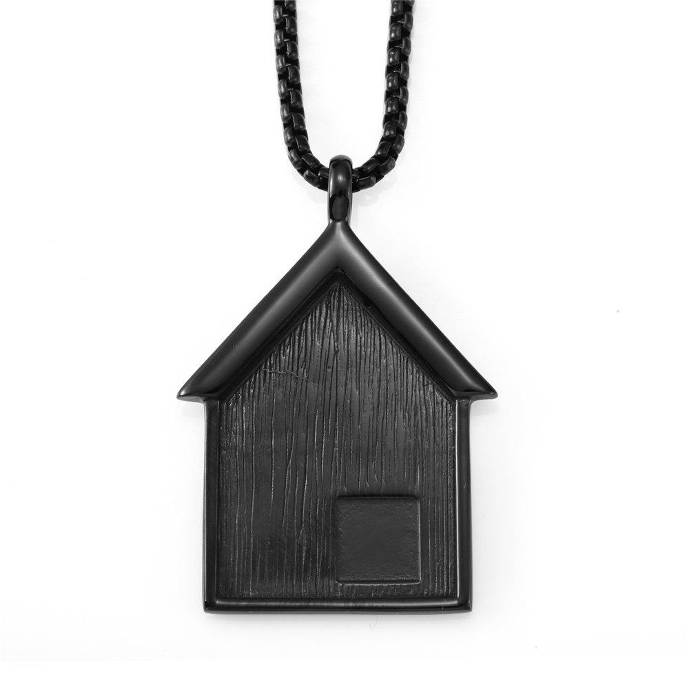 Best NYUK New Stainless Steel Pendant Necklace for Small House