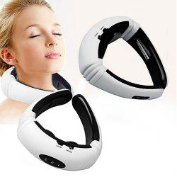 KL-5830 Electric Pulse Back and Neck Massager Far Infrared Heating Pain Relief -