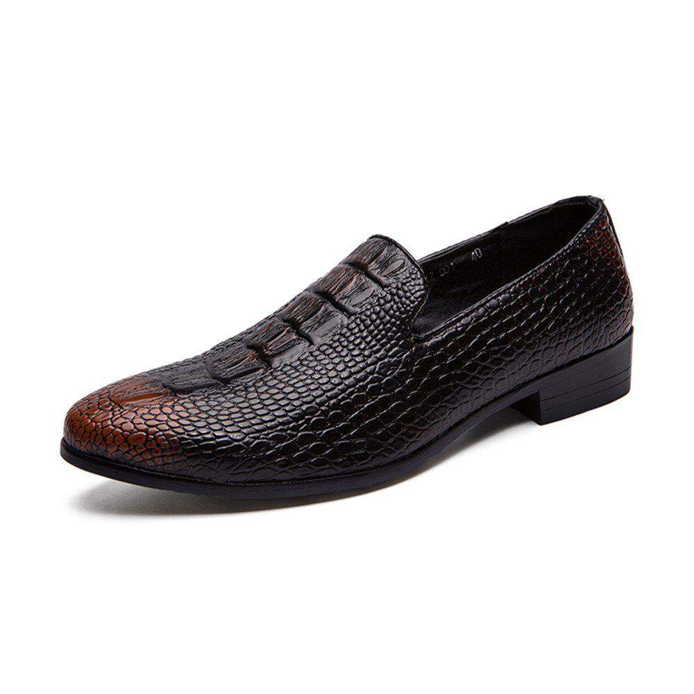 Fancy Men'S Spring Casual Leather Shoes