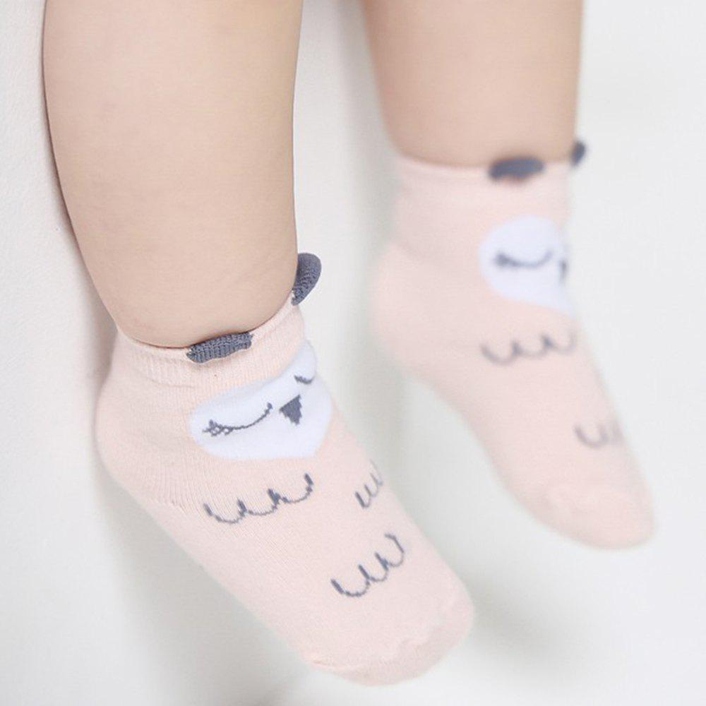 Shops 1 Pair of Men and Women Baby Cartoon Cute Puppy Owl Socks