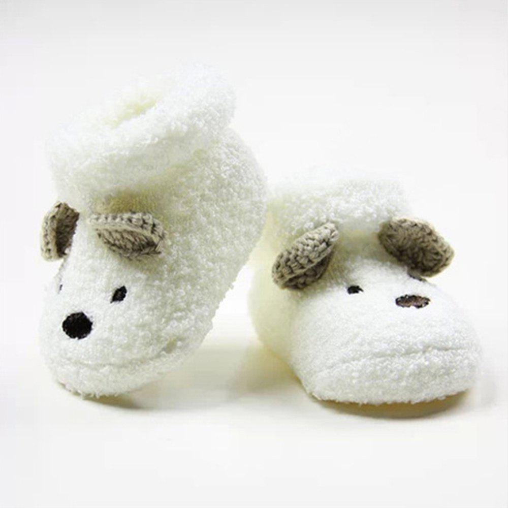 Affordable 1 Pair of Baby Terry Three-Dimensional Newborn Socks