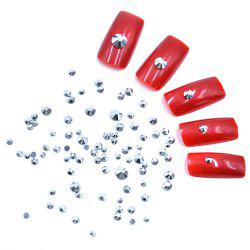 1 Box AB 27 Color Round Flatback Crystal Charm Gems Mix Size SS4-30 Nail Decors -