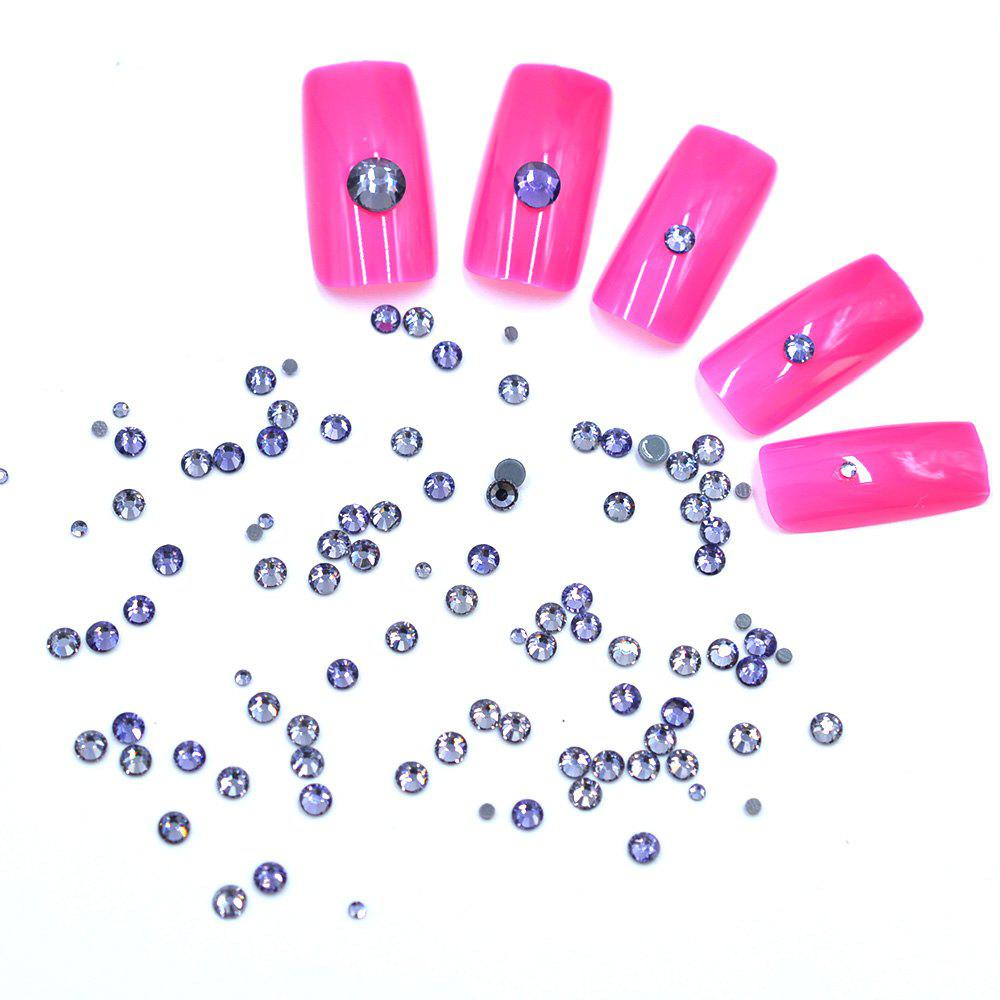 Outfit 1 Box AB 27 Color Round Flatback Crystal Charm Gems Mix Size SS4-30 Nail Decors