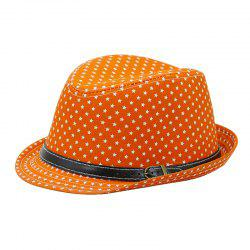 Star Print Hat Jazz Cap + Free Size for 56-58CM -