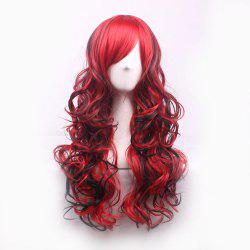 Colour Pick-And-Dye Gradient Sham-Start Long Curly Hair Cover -