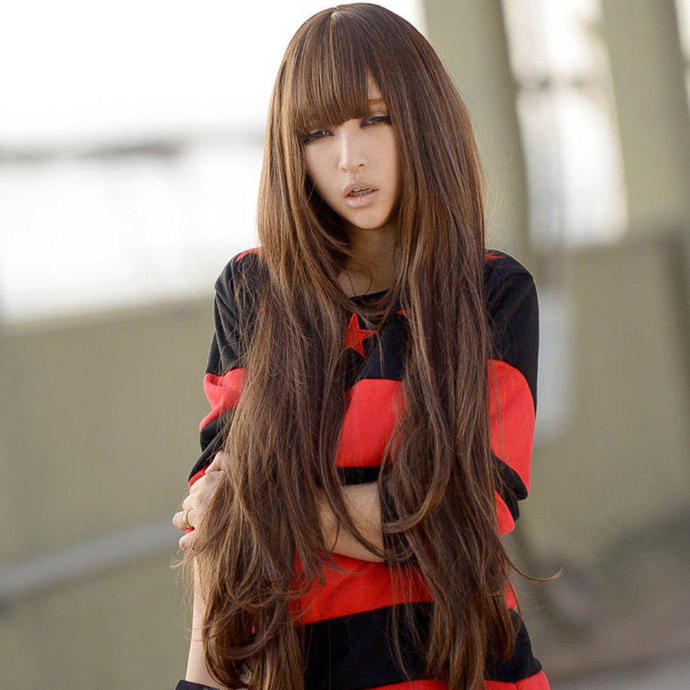 Best Fashionable and Fluffy Wig with 80 Cm Big Wave