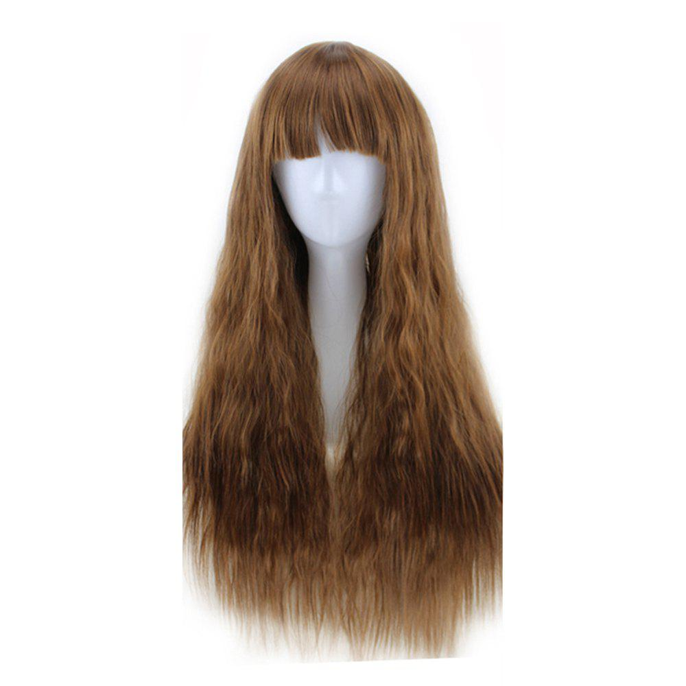Latest New Long Curly Corn Hot Fashion Fluffy Style 5 Colors Optional