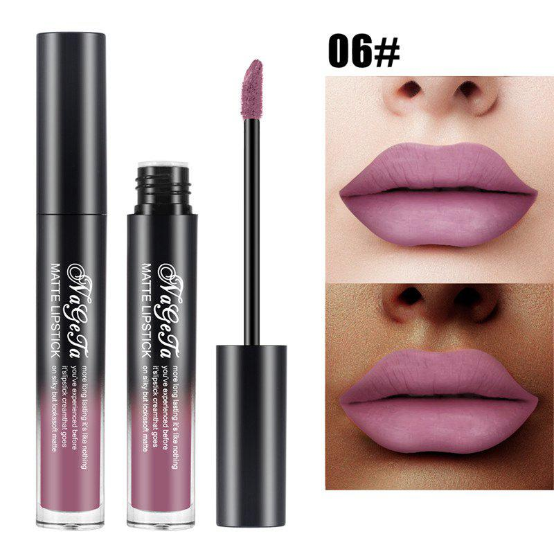 Buy Non-Stick Matte Lip Gloss Long-Lasting Velvet Matte Liquid Lipstick