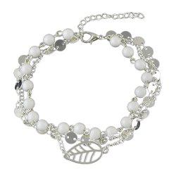 1 pc Gold Silver Bead Chain Anklets -