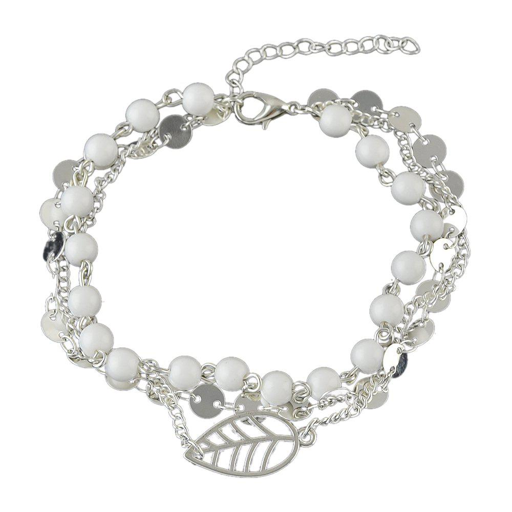 Latest 1 pc Gold Silver Bead Chain Anklets