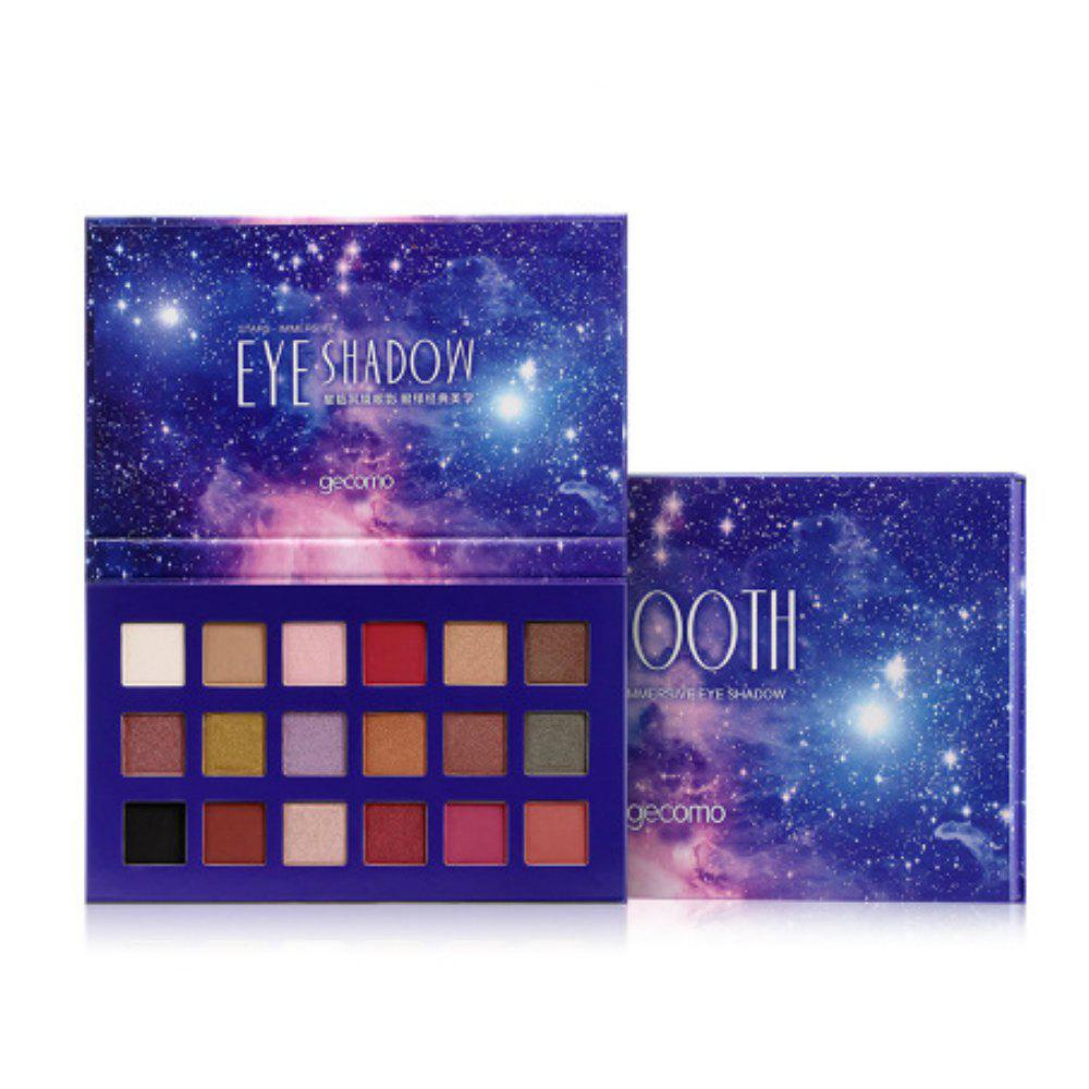 Best 18 Color Starry Sky Eye Shadow Disc