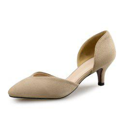 Pointed Stiletto Shallow Mouth Single Shoes Four Seasons Work Shoes -