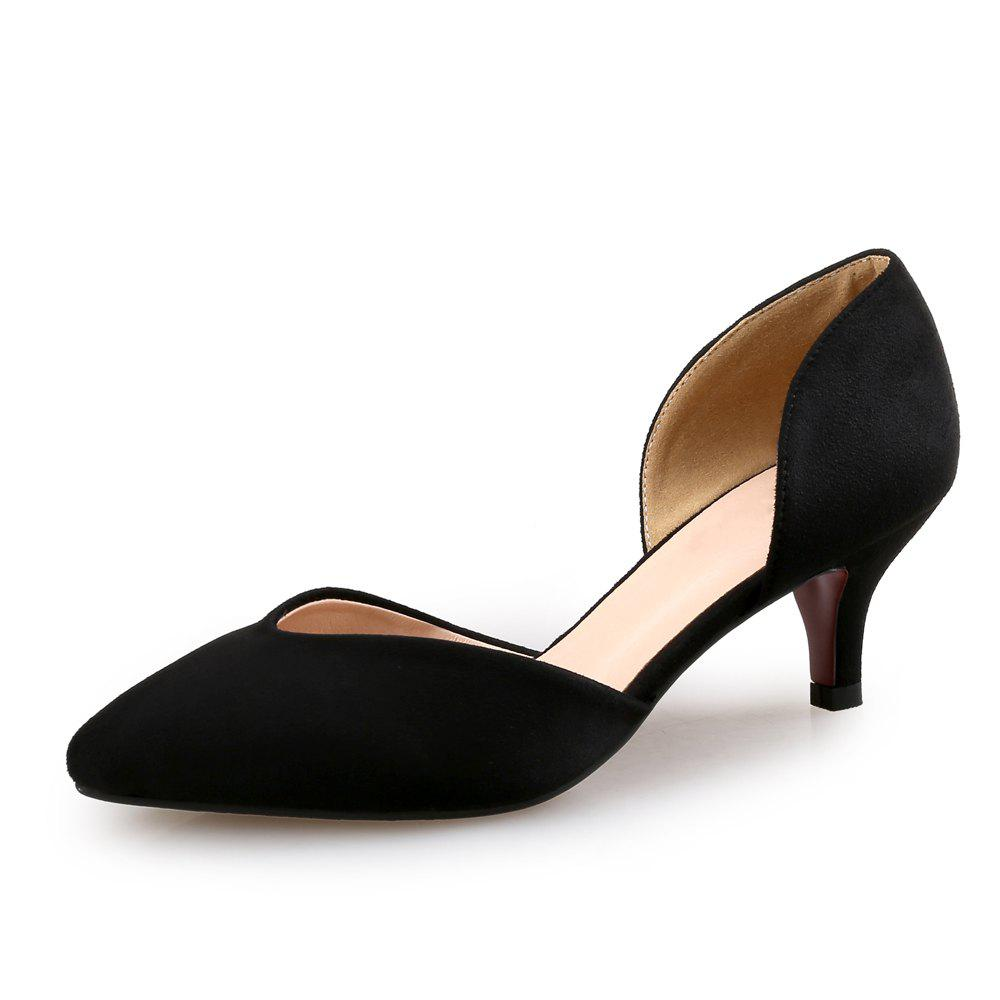 Store Pointed Stiletto Shallow Mouth Single Shoes Four Seasons Work Shoes