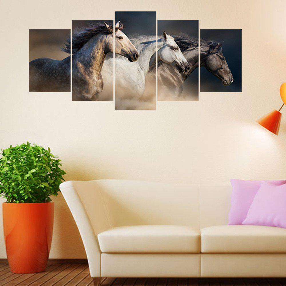 Trendy Pentium Horse PVC Wall Stickers
