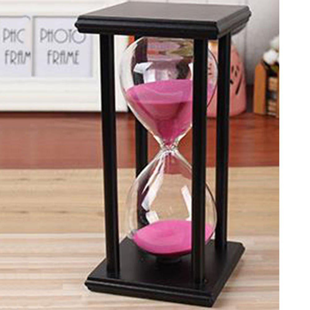 Hot Creative Home Crafts Wooden 5 To 60 Minutes Time Timer Hourglass Ornaments