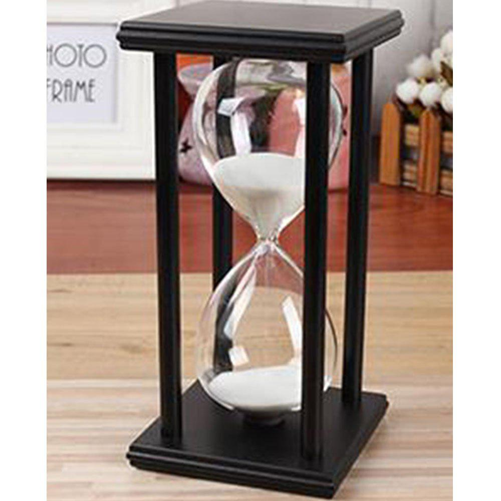Discount Creative Home Crafts Wooden 5 To 60 Minutes Time Timer Hourglass Ornaments