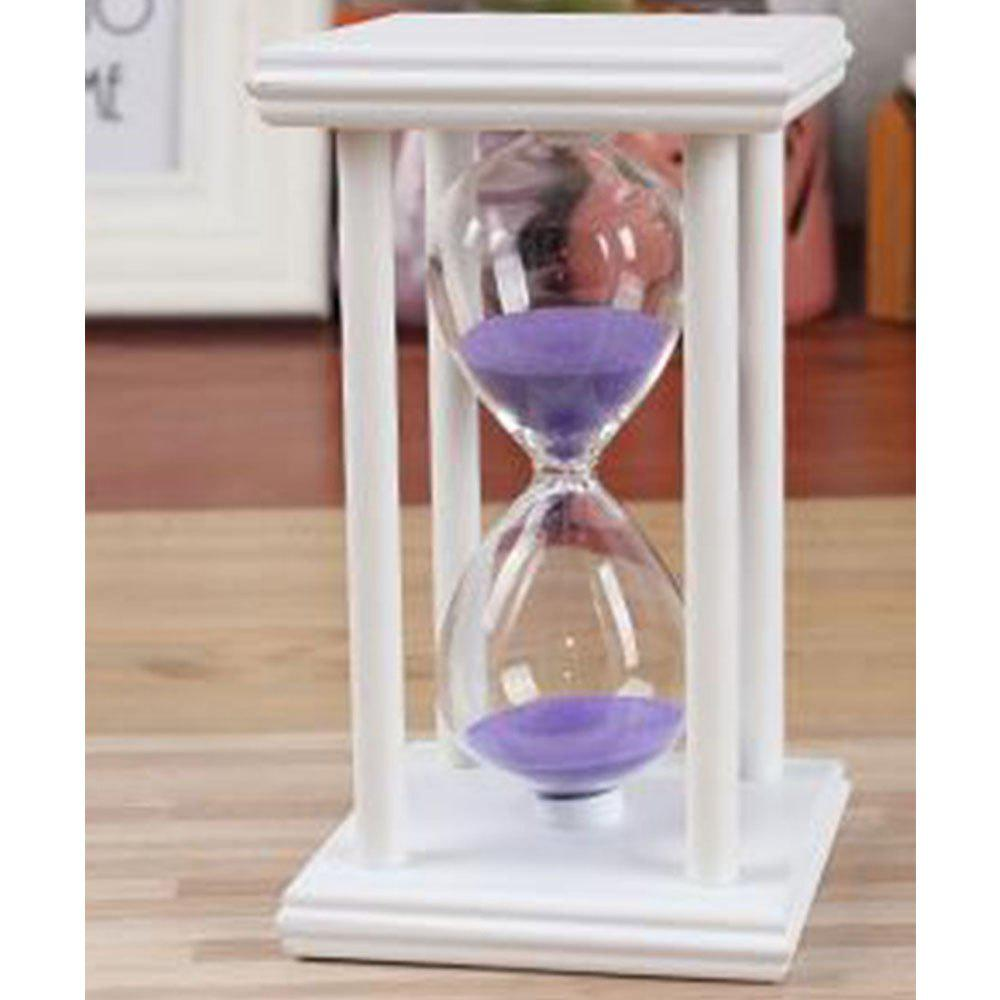 Unique Creative Home Crafts Wooden 5 To 60 Minutes Time Timer Hourglass Ornaments