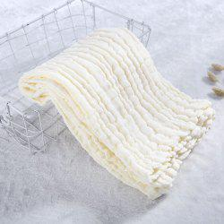 Baby Washed Gauze Holding Cotton Baby Cover Pleated Gauze Color Bath Towel -