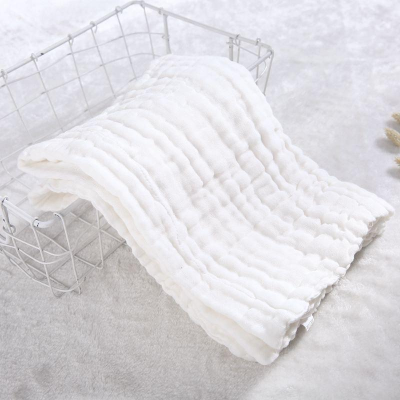 Buy Baby Washed Gauze Holding Cotton Baby Cover Pleated Gauze Color Bath Towel