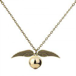 Creative Men's Wings Plus Ball Necklaces -
