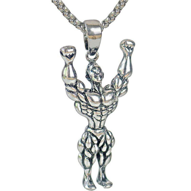 Buy Leisure Style Men Fitness Mr Hanging Necklace