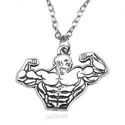 Collier pour hommes Fitness Muscle Fitness -