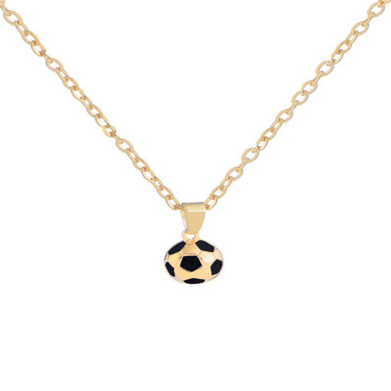 Outfits Creative Trend Men's Football Necklace