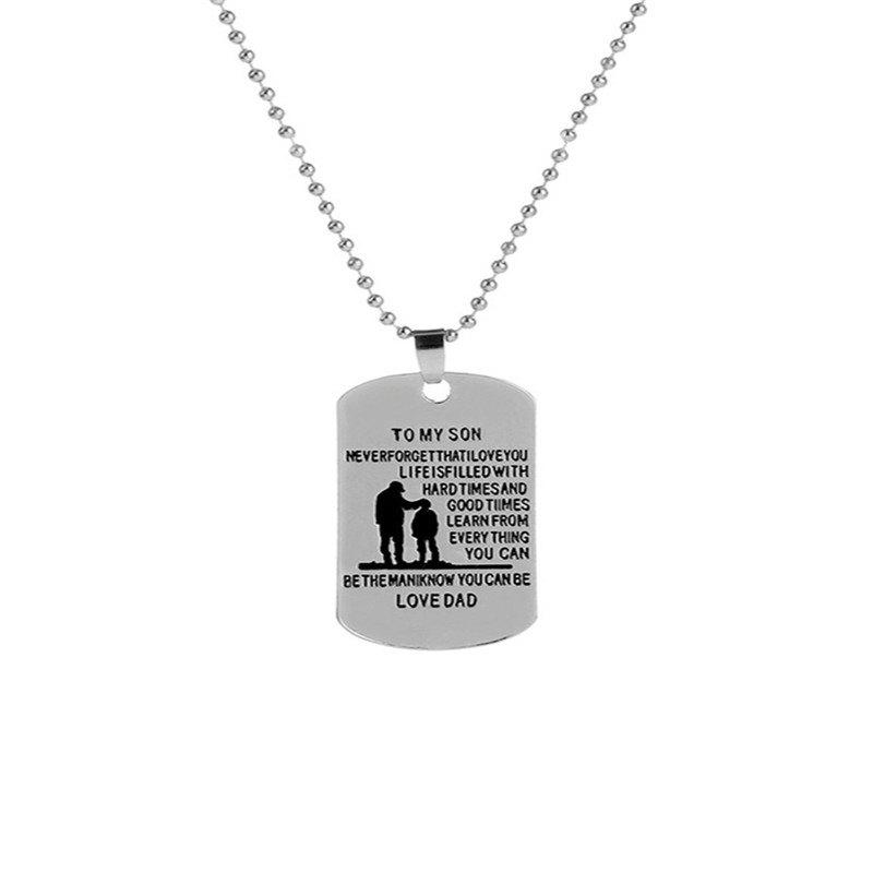 Store Fashion Men's Father and Son Necklaces