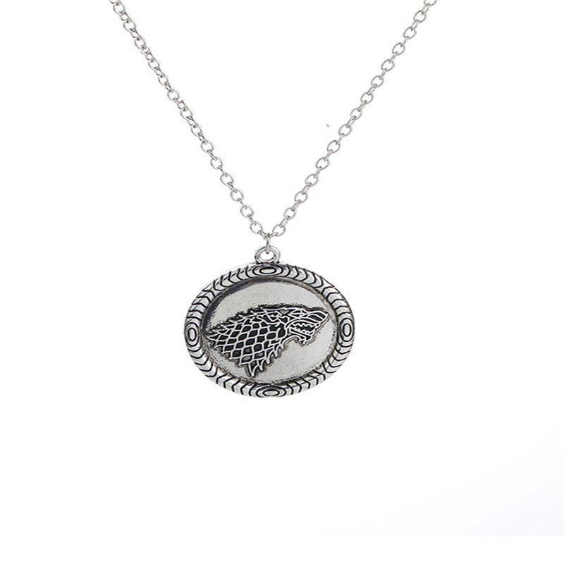 Affordable Exaggerated Men's Round Head Necklace