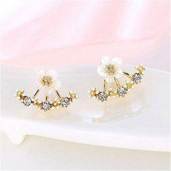 Noble Fashion Lady Chrysanthemum Ear Nails -