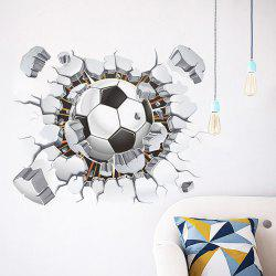 Football Print Removable Wall Sticker -