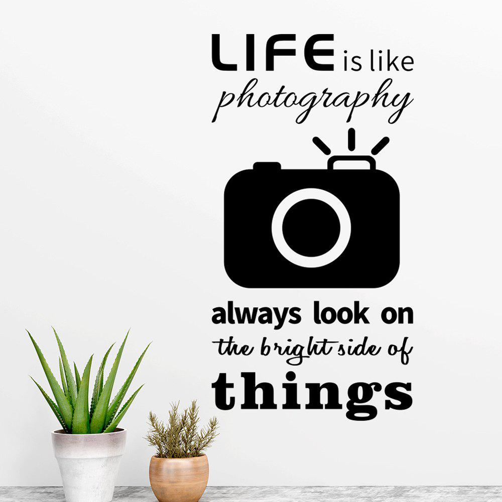 Best Camera Removable PVC Wall Sticker