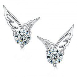 Boucles d'oreilles Sweet Fashion Lady Angel Wing -