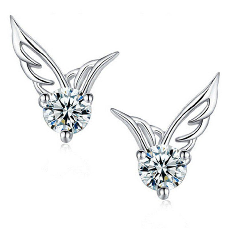 Affordable Sweet Fashion Lady Angel Wing Earrings