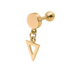 Women's Creative Trend Triangle Hanging Steel Ear Nails -