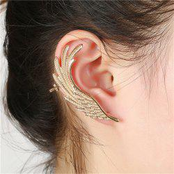 Creative Ladies Exaggerate Feather Wings and Ear Nails -