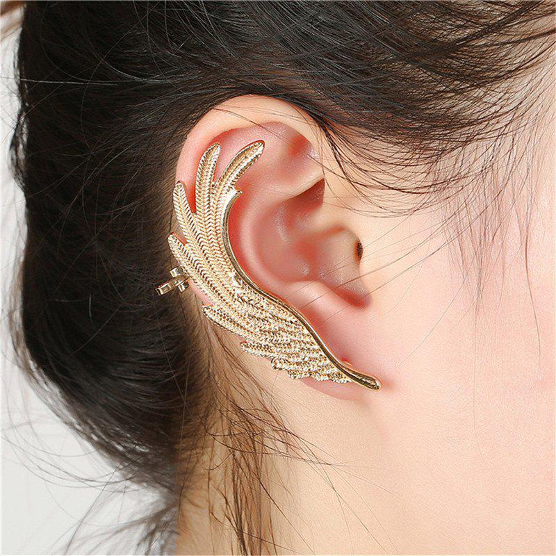 Store Creative Ladies Exaggerate Feather Wings and Ear Nails