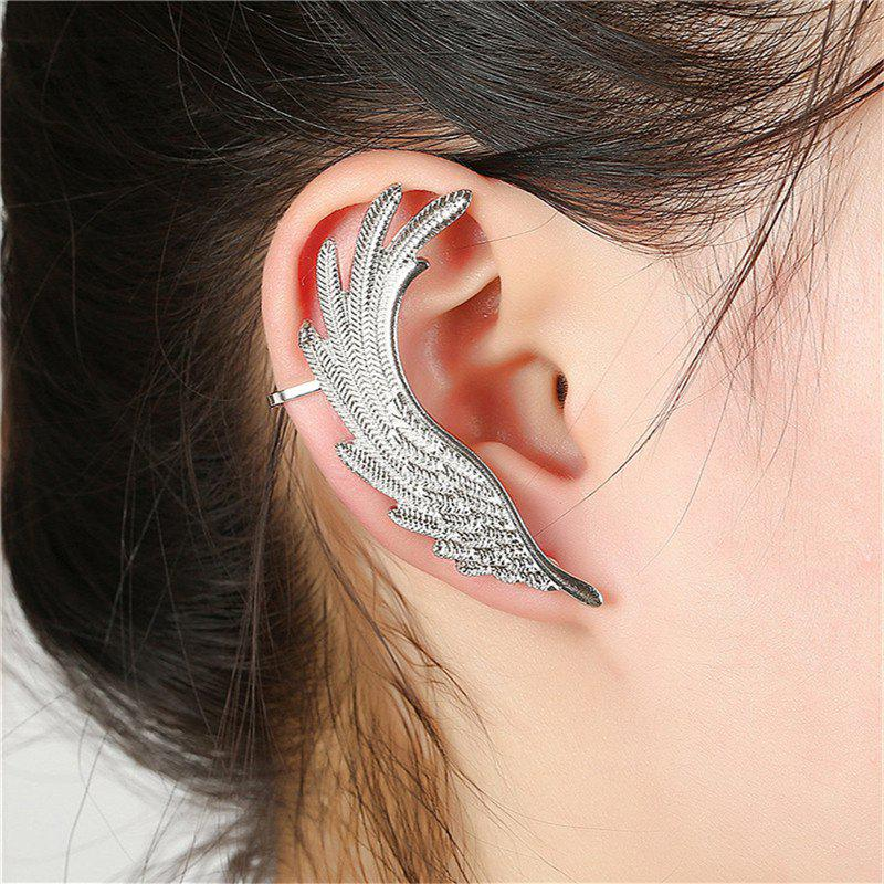 Hot Creative Ladies Exaggerate Feather Wings and Ear Nails