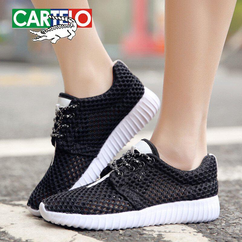 Affordable CARTELO Women's Fashion Breathable Casual Shoes