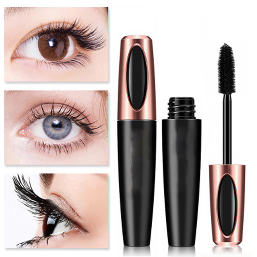 Hot 4D Silk Fiber Mascara Waterproof Long Lasting Lash Mascara