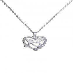 Beautiful Temperament Lady Mother Necklace -