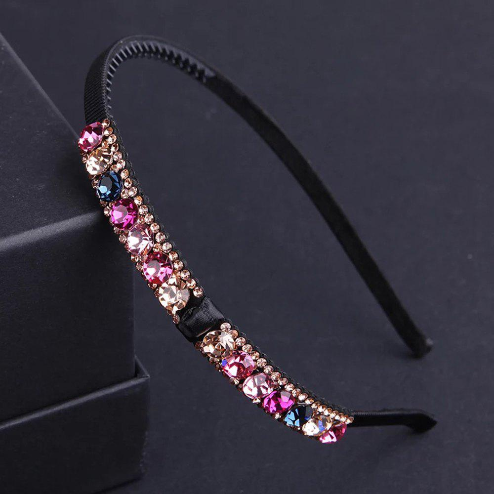 New Semi-Drill Hairpin Bow Sweet Beauty Headdress Water Drill Pressure Hairpin