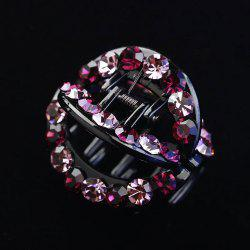 Round Hollow Inlaid Drill Hairpin -