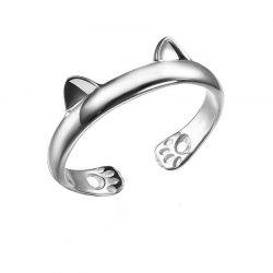 Fashionable Exquisite Male Cat Ring -