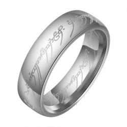 Fashion The Lord of The Rings for Men 18K Gold Plating Stainless Steel Jewelry -